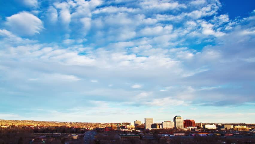 Downtown Colorado Springs Timelapse