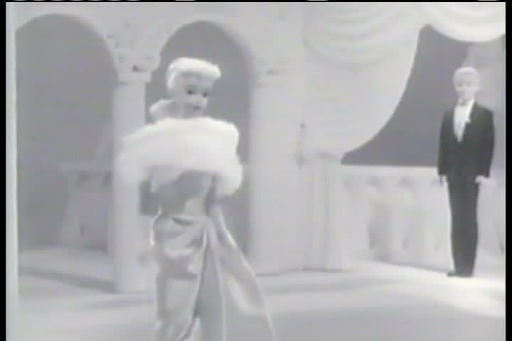 1950s - A commercial from the 1950s, introducing the new Ken doll, Barbie's boyfriend