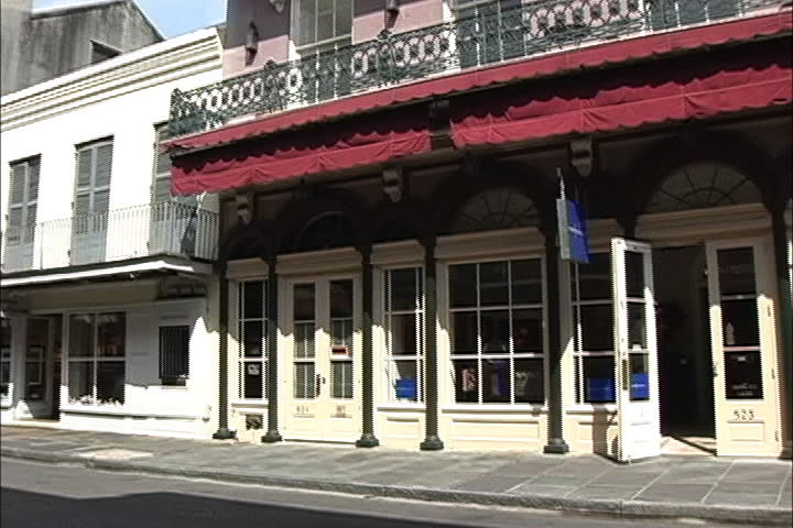 Buildings in New Orleans French Quarter | Shutterstock HD Video #4312025