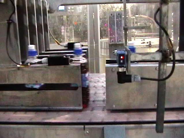 plastic bottles on the conveyor belt #43268