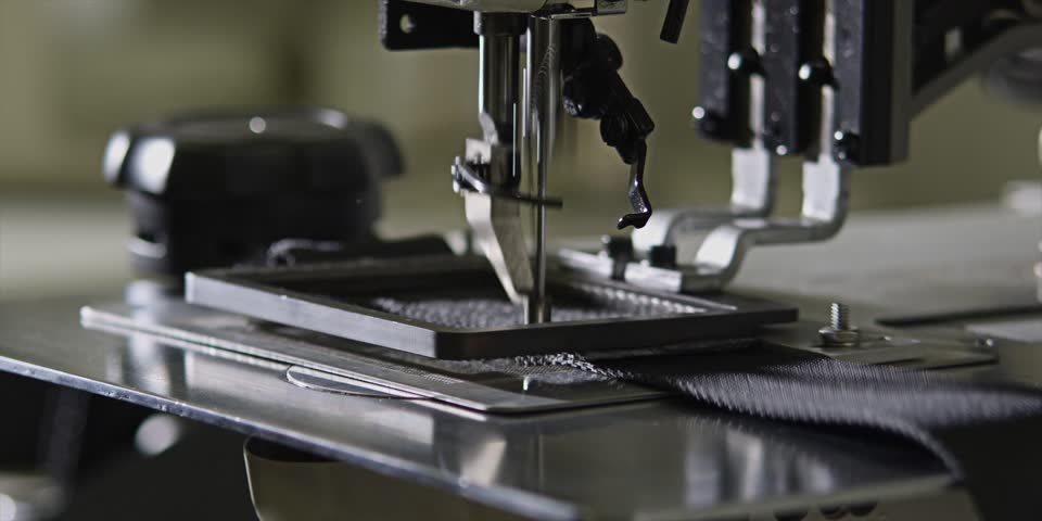 Industrial Sewing Machine Stock Footage Video (100% Royalty-free) 4330721 |  Shutterstock