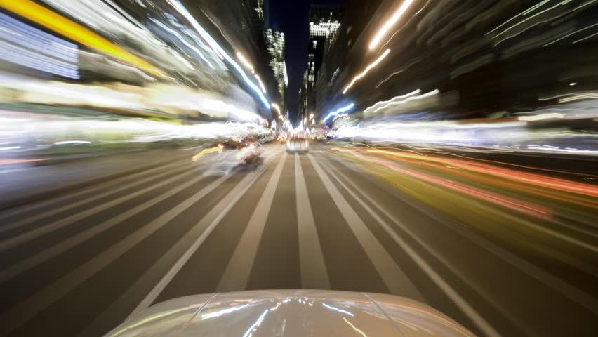 Driving timelapse through New York City  | Shutterstock HD Video #434057
