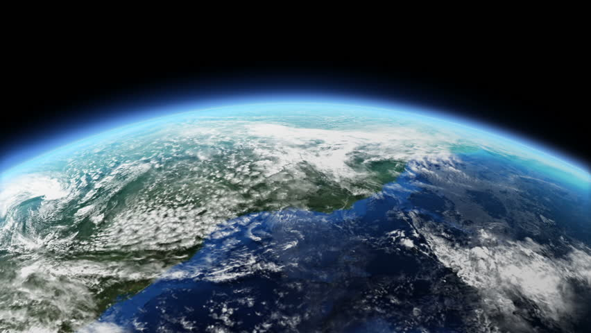 Rotating Earth Background Loop Able Stock Footage Video 100 Royalty Free 4364630 Shutterstock