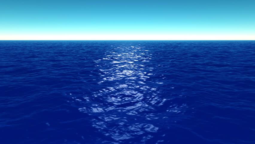 Океан анимация для презентации
