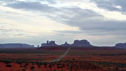 time lapse of Monument Valley,Utah,USA