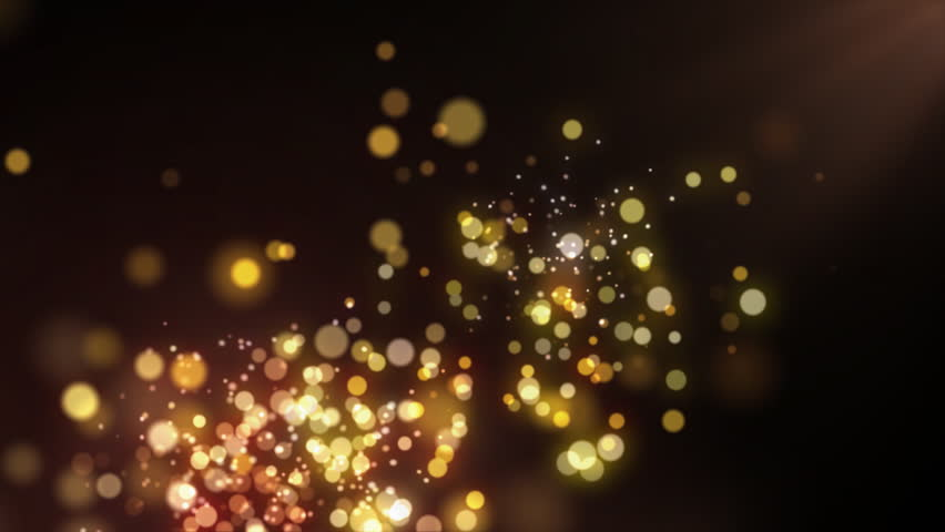 Abstract motion background, shining lights  and sparkling  particles, seamless loop able. | Shutterstock HD Video #4390928