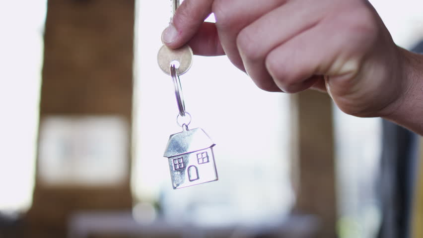 Key to a new home! | Shutterstock HD Video #4395515