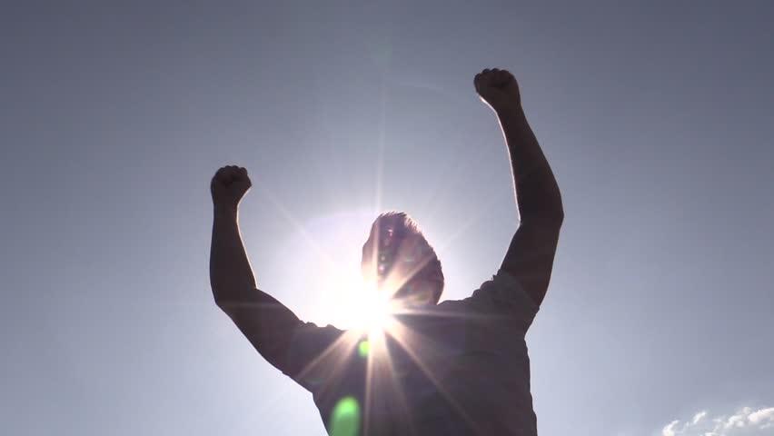 Winner, silhouette   Shutterstock HD Video #4418759