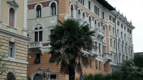 town near sea in Italy