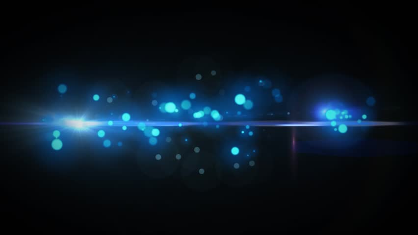 Blue Abstract Background with Lens Flares | Shutterstock HD Video #4453133