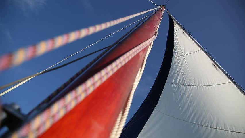 Sail of yacht | Shutterstock HD Video #4461857