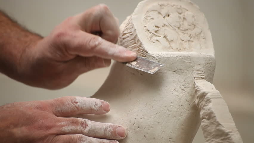Sculpting Class Workshop. Stone Carving Stock Footage Video (100%  Royalty-free) 4471322 | Shutterstock