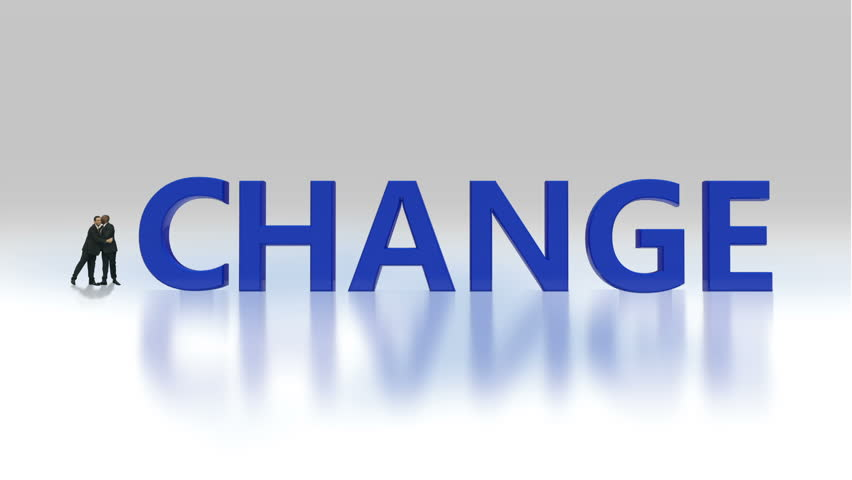 Business Change animation word concept | Shutterstock HD Video #4483934