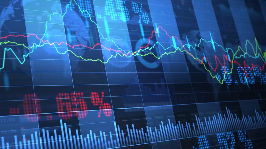 Stock market trend of animation. | Shutterstock HD Video #4505585