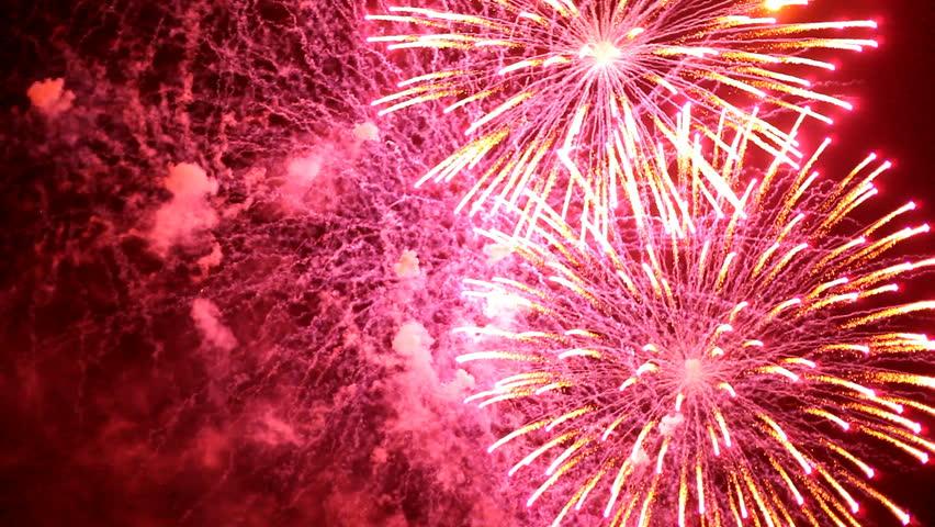 Fireworks   Shutterstock HD Video #451525