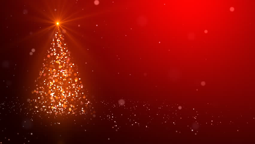 Snowflakes converge into the Christmas tree | Shutterstock HD Video #4518245