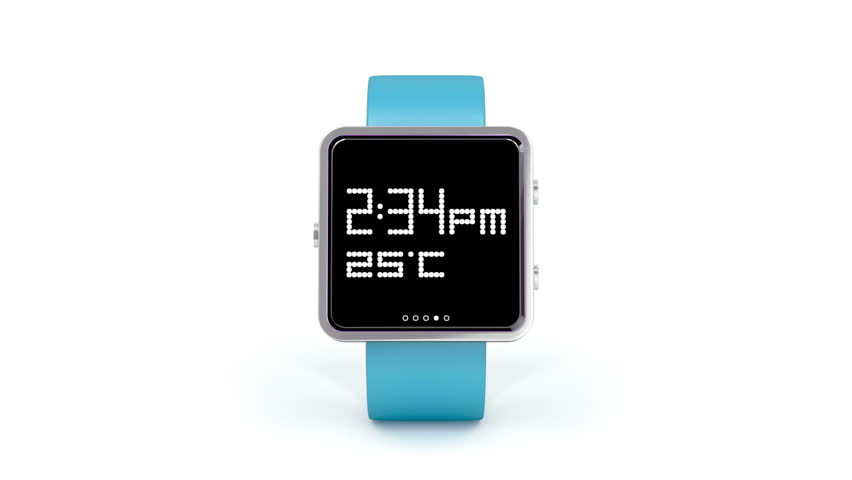 Smartwatch rotates on white background   Shutterstock HD Video #4521905