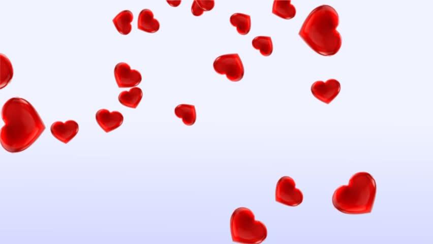 Valentine Love Hearts Background #4523855