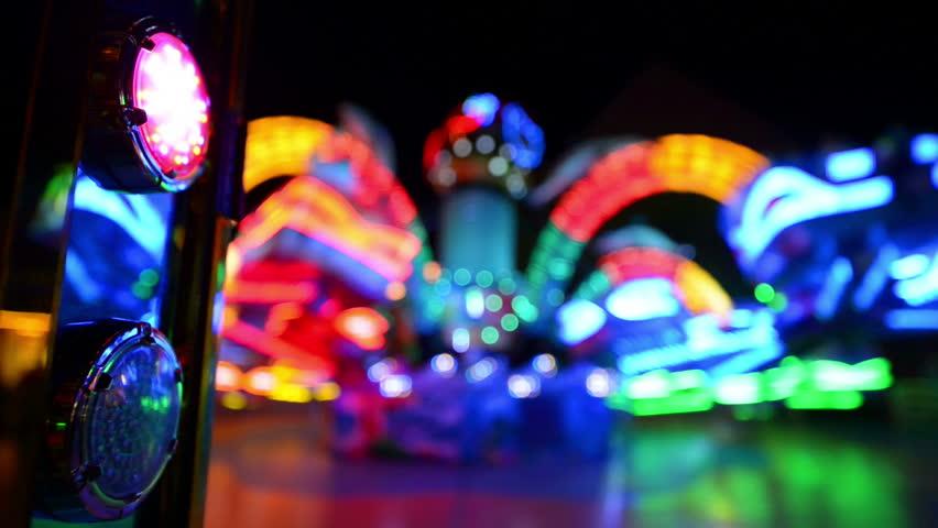 A carousel on a funfair like Oktoberfest. 11058   Royalty-Free Stock Footage #4532780