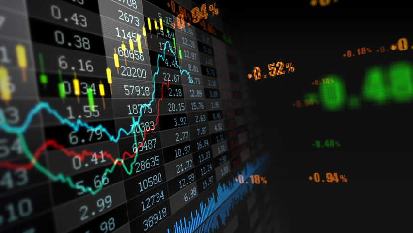 Stock market trend of animation. | Shutterstock HD Video #4558547