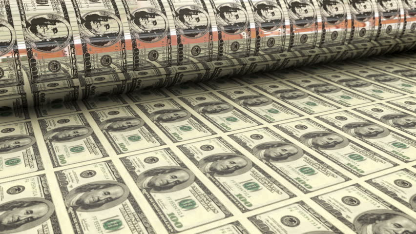 Printing money | Shutterstock HD Video #4579517