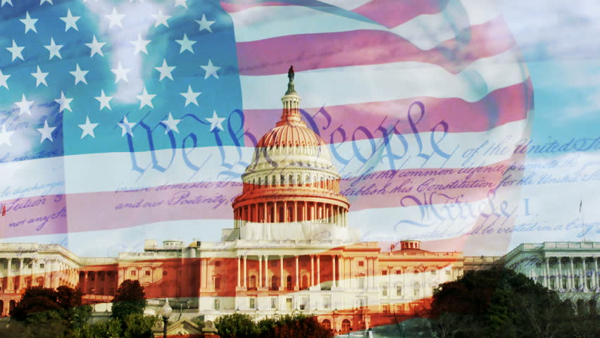 Us Capitol, American Flag Constitution Stock Footage Video (100%  Royalty-free) 4587650 | Shutterstock