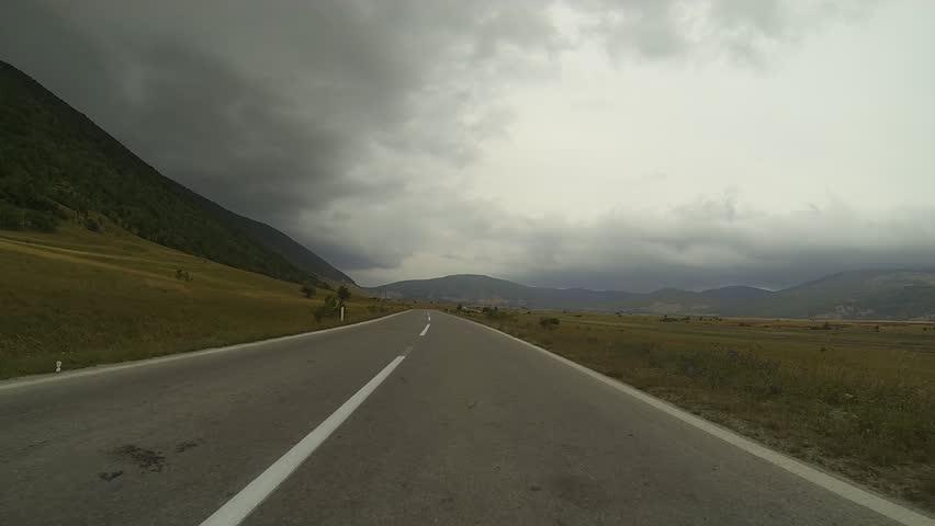 Road   Shutterstock HD Video #4593083