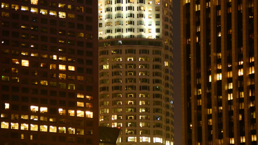 Time Lapse of Office Apartment Buildings in Los Angeles | Shutterstock HD Video #4625867