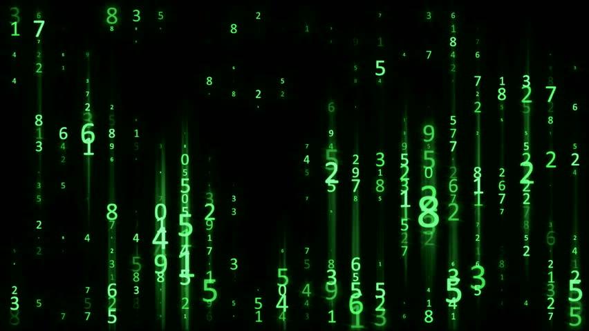 цифры из матрицы картинки красного известняка вдоль