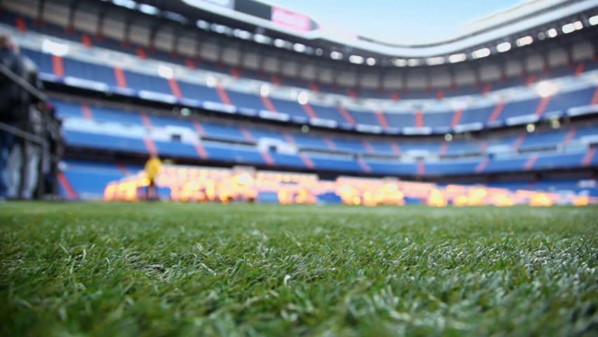 Santiago Bernabéu Stadium Real Madrid C.F. La Liga Football, football,  sport, grass png   PNGEgg