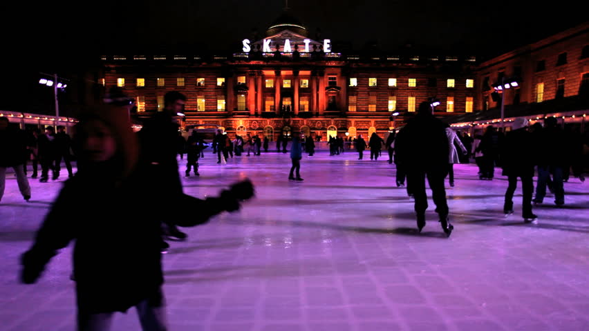 Children Ice Skating Somerset House High Resolution Stock Photography and  Images - Alamy