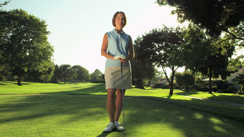 Golf Woman Stock Footage Video | Shutterstock