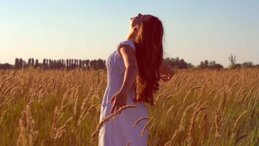 Beauty Girl With Healthy Long Stock Footage Video 100 Royalty Free 4671785 Shutterstock