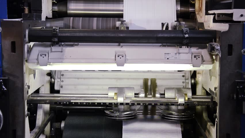 Industrial printing machine | Shutterstock HD Video #4675250
