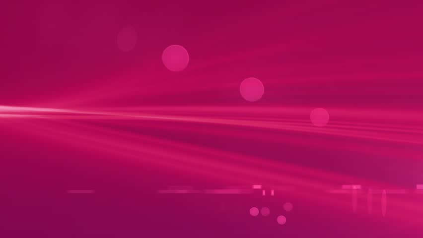 Hot Pink Background of Light Streaks Abstract Motion Background