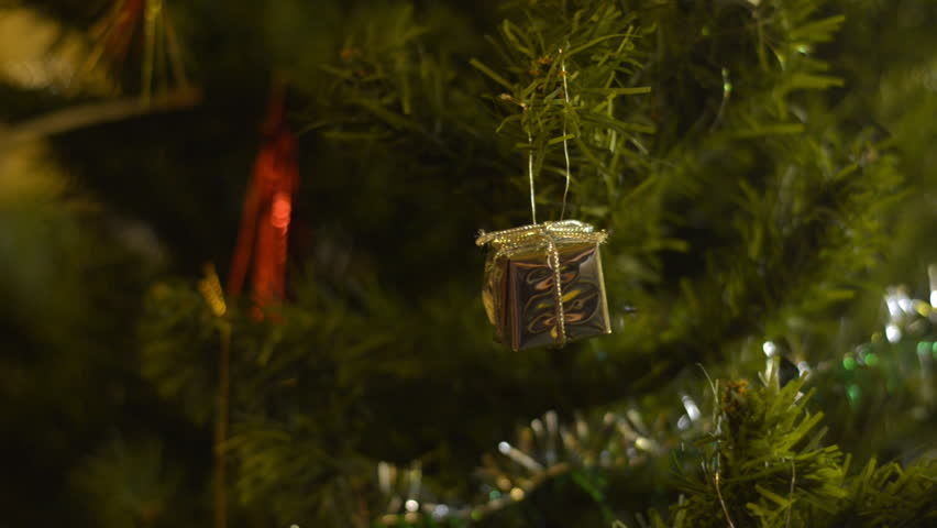 Present Box Christmas Tree Decoration