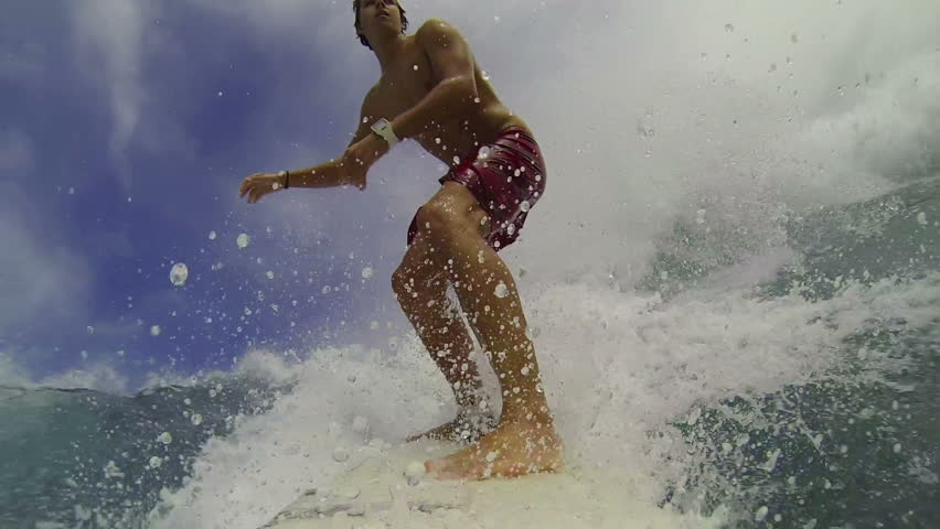 POV Surfing (Slow Motion)