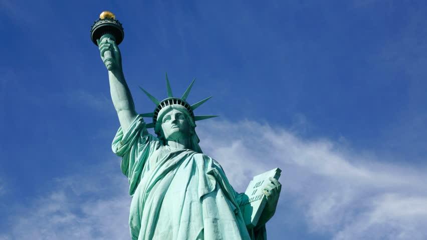 Timelapse shot - Statue of Liberty | Shutterstock HD Video #4703015