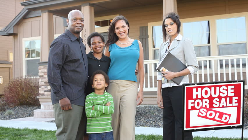 Family Buying New Home with Stock Footage Video (100% Royalty-free) 4742663  | Shutterstock
