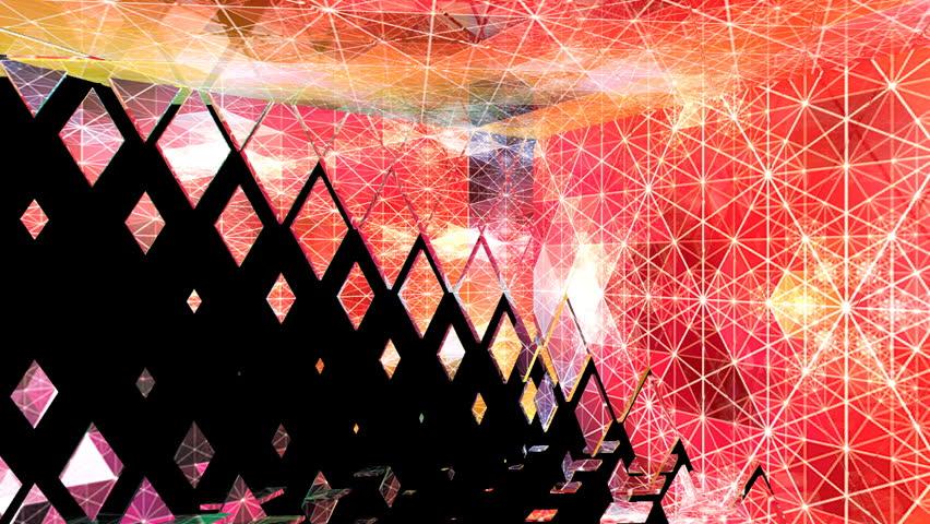 abstract animatsioony recurring backdrop for the studio