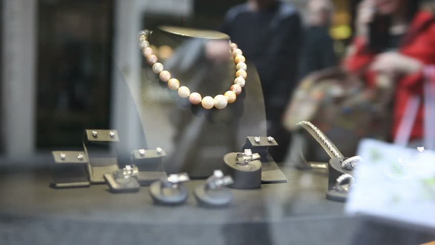 Jewellery on store display | Shutterstock HD Video #4784888