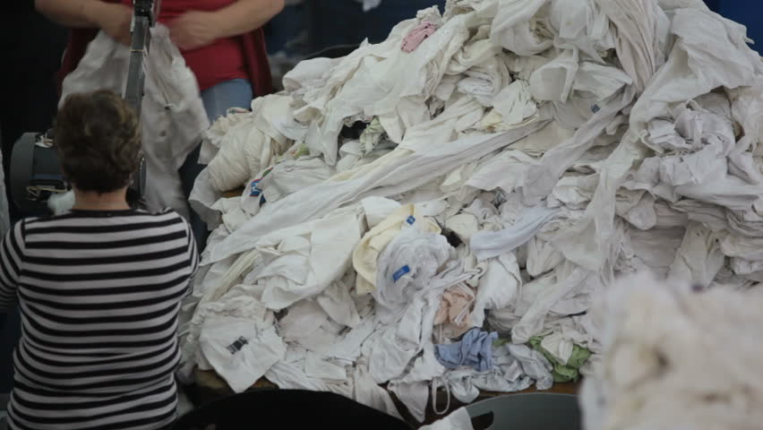 Materials and clothes recycling plant