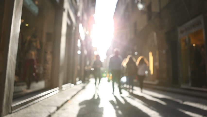 Shopping street in Italy | Shutterstock HD Video #4791131