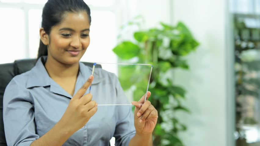 Indian women on video conference call with wireless tablet device | Shutterstock HD Video #4792181