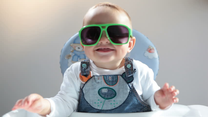 Baby in sunshades | Shutterstock HD Video #4792796