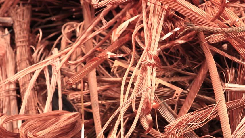 Copper - copper cable for recycling