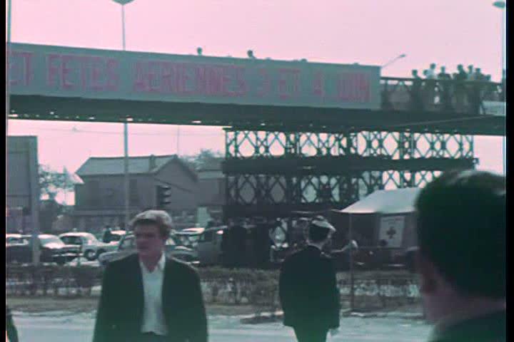 1960s - The Paris air show of 1967. | Shutterstock HD Video #4846661