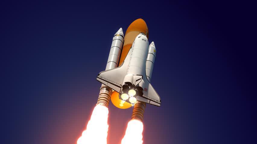 3D model of Space Shuttle
