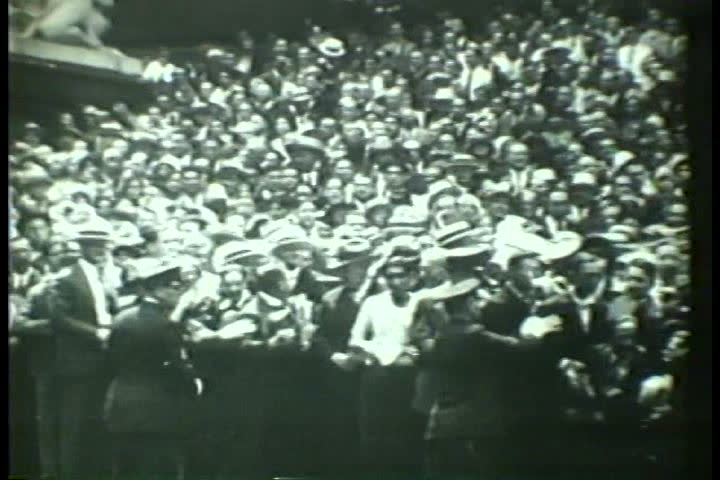1930s - Admiral Richard Byrd returns from his Antarctic expedition in 1930. | Shutterstock HD Video #4851971