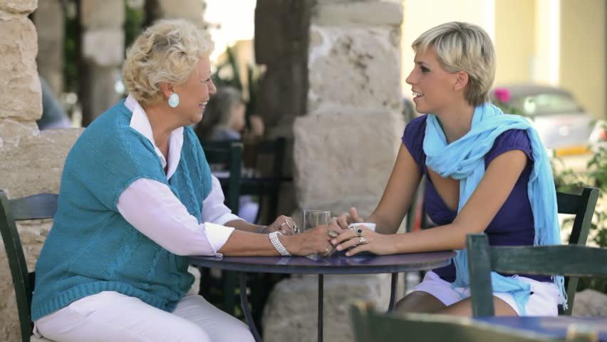 Talk to older ladies